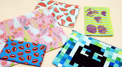 Custom Print Cosmetic Bags