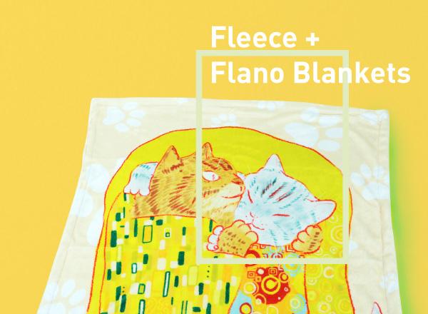 Custom Fleece And Flano Blankets