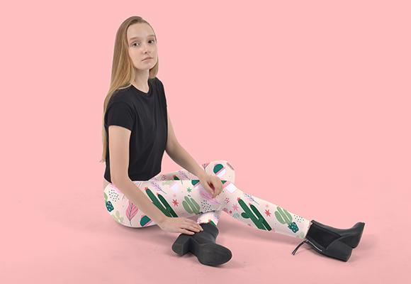 Custom Inside Out Leggings