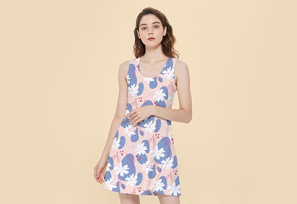 Custom Inside Out Reversible Sleeveless Dress