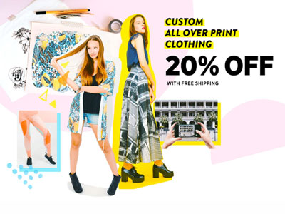 Custom Print Apparel: 20% Off