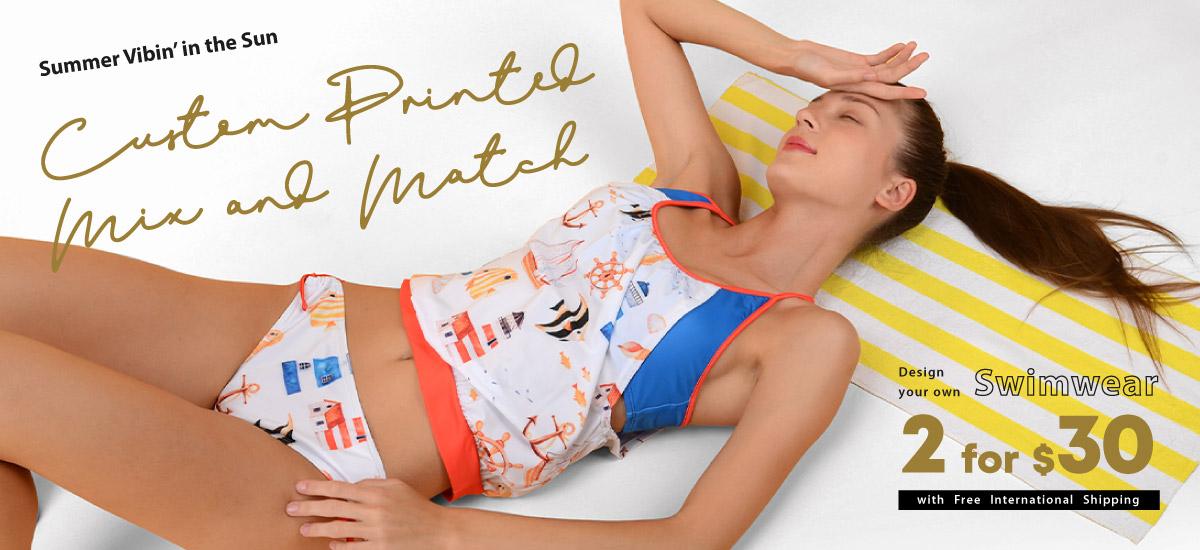 Custom Print Summer Sale