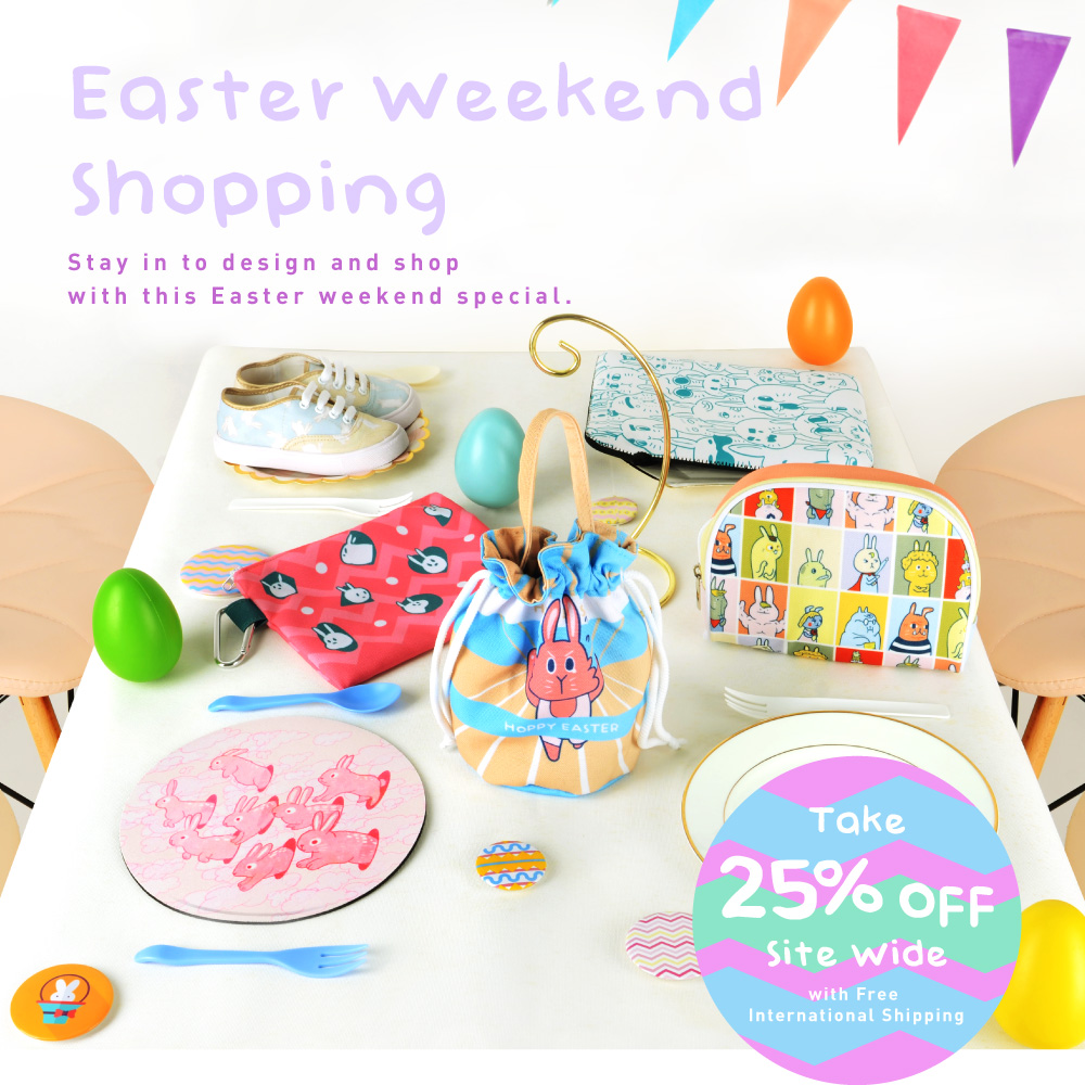 Easter Weekend Shopping