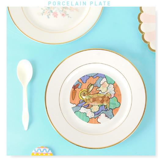 Custom Porcelain Plate