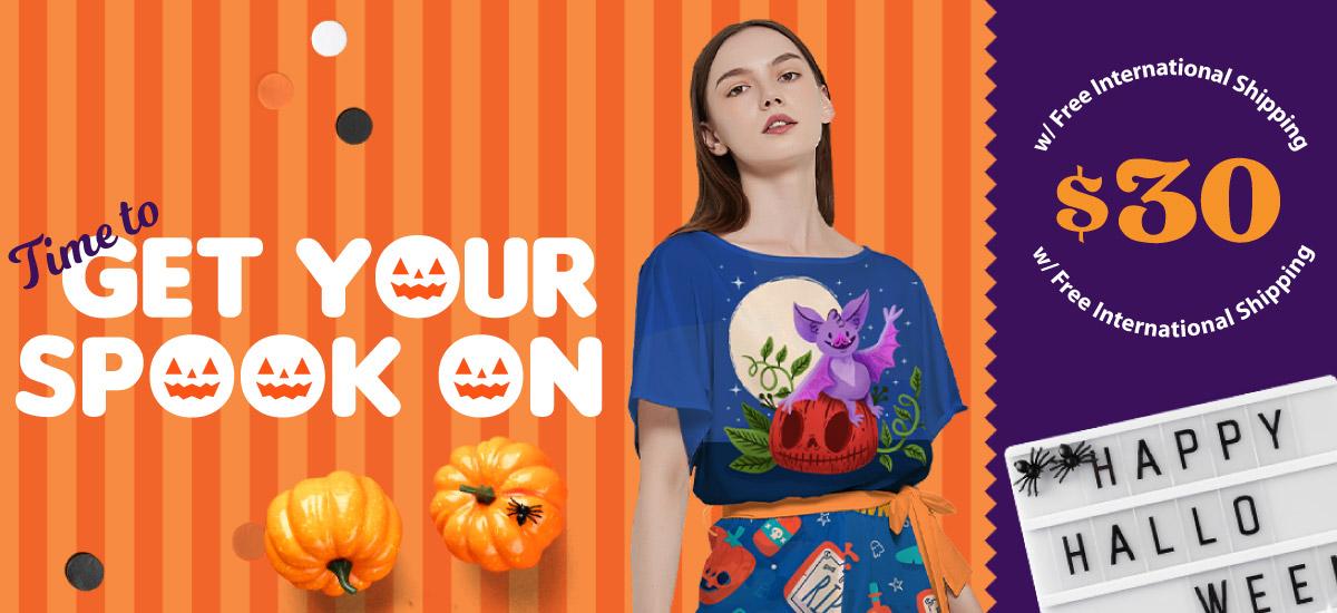 Design Your Own Halloween Onesie